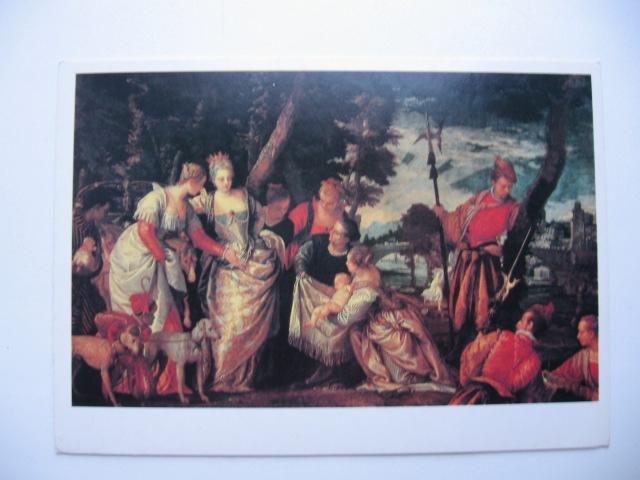 ВЕРОНЕЗЕ (ПАОЛО КАЛИЯРИ)  Нахождение Моисея