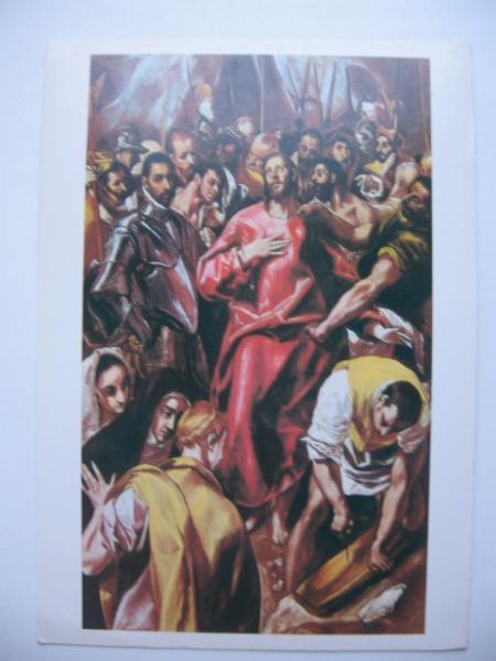 ЭЛЬ ГРЕКО (ДОМЕНИКОС ТЕОТОКОПУЛОС) Снятие одежд с Христа