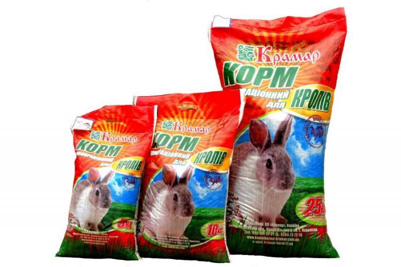 КК 92-1 Для взрослых Кролей (с травяной мукой)