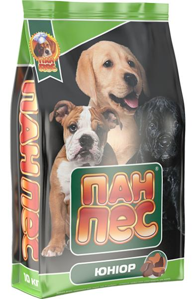 Сухой корм для собак Пан Пес — Юниор 10 кг