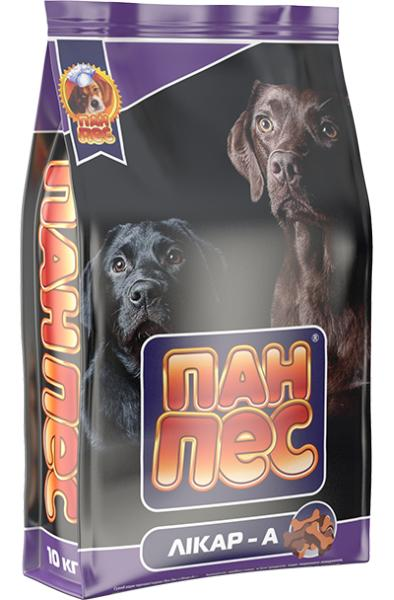 Сухой корм для собак Пан Пес — Ликар-А 10 кг