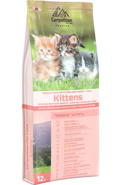 Сухой корм Carpathian Pet Food — Kittens Для котят всех пород