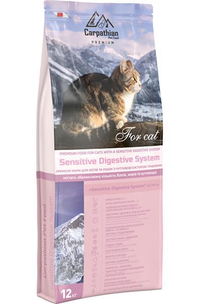 Сухой корм Carpathian Pet Food — Sensitive Digestive System Для котов и кошек с чувствительной пищеварительной системой
