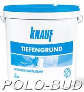 Фото ГРУНТОВКИ KNAUF Tiefengrund (Тифенгрунд), 5кг.