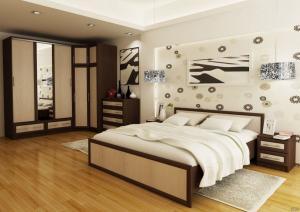 Фото спальни Модерн ( модульная система)