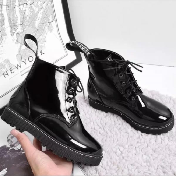 Ботинки лакираваные