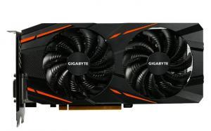 Фото  Видеокарта GIGABYTE Radeon RX 470 1206Mhz PCI-E 3.0 4096Mb 6600Mhz 256 bit DVI HDMI HDCP Windforce