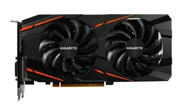 Видеокарта GIGABYTE Radeon RX 480 1290Mhz PCI-E 3.0 8192Mb 8000Mhz 256 bit DVI HDMI HDCP