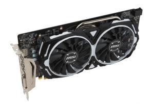 Фото  Видеокарта MSI Radeon RX 580 1366Mhz PCI-E 3.0 8192Mb 8000Mhz 256 bit DVI 2xHDMI HDCP Armor OC