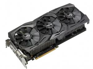 Фото  Видеокарта ASUS Radeon RX 580 1411Mhz PCI-E 3.0 8192Mb 8000Mhz 256 bit DVI 2xHDMI HDCP Strix Top Gaming