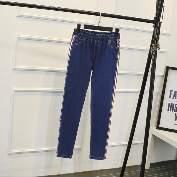 Легеннсы джинсовые