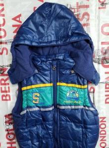 Фото Куртки, комбинезоны, парки, жилетки МАЛЬЧИКАМ Жилетка для мальчика от 1 до 4 лет