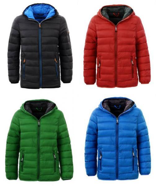 Куртка парка для мальчика на 3-4 и 7-8 лет
