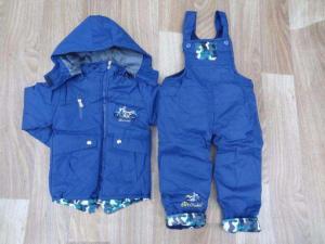 Фото Куртки, комбинезоны, парки, жилетки МАЛЬЧИКАМ -30% Комбинезон для мальчика, от 30 до 36 мес