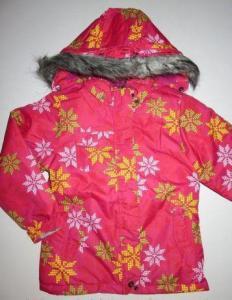 Фото Куртки, комбинезоны, пальто, жилетки ДЕВОЧКАМ РАСПРОДАЖА! -35% Куртка для девочки, горнолыжная (7-8 лет)