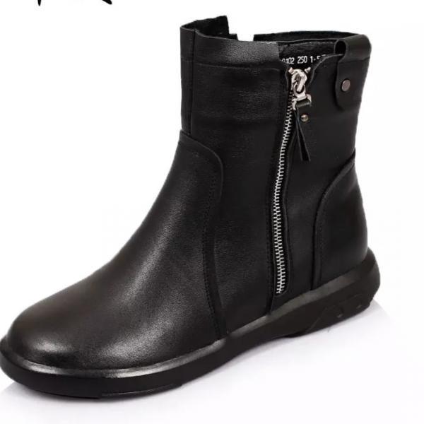 .Ботинки  натуральная кожа