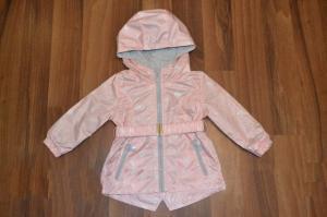 Фото Куртки, комбинезоны, пальто, жилетки ДЕВОЧКАМ Плотная парка ветровка для девочек, демисезон о 0,5 до 5 лет