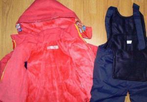 Фото Куртки, комбинезоны, пальто, жилетки ДЕВОЧКАМ РАСПРОДАЖА! -30% Комбинезон ЗИМА-ДЕМИСЕЗОН 12-24 мес