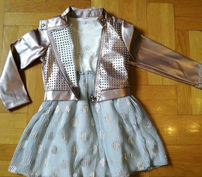 Комплект с курткой от 3 до 8 лет
