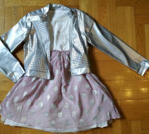 Фото Костюмы нарядные и спортивные ДЕВОЧКАМ Комплект с курткой от 3 до 8 лет