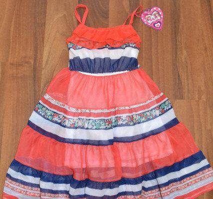 РАСПРОДАЖА! Платье шифон, от 4 до 12 лет