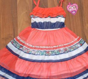 Фото Платья, туники, сарафаны РАСПРОДАЖА! -30% Платье шифон, от 4 до 12 лет