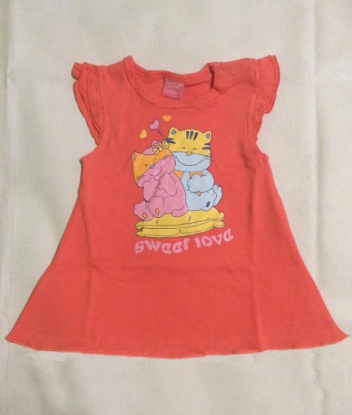 Платье для девочки от 6 мес до 2 лет