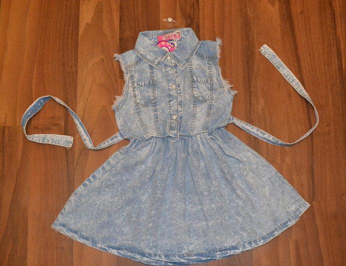 Платье для девочки от 4 до 12 лет