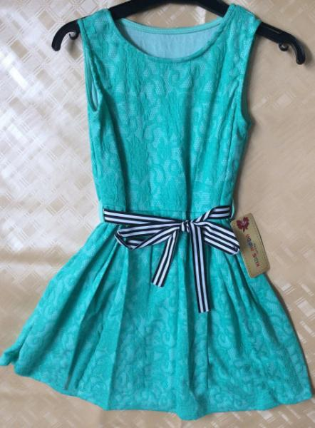 Скидка -30%! Платье для девочки, гипюр от 8 до 15 лет