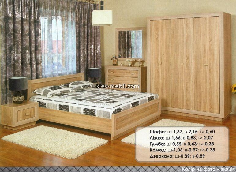 спальня Корвет (посекционно)