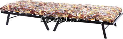 кровать-раскладушка Дачная с матрасом