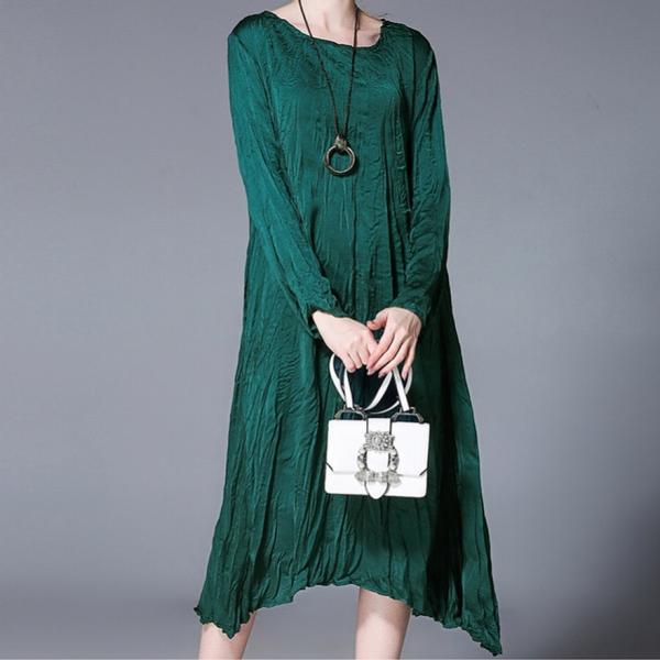 Мятое платье