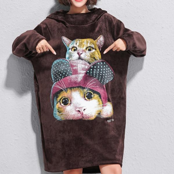 Толстовка с котами