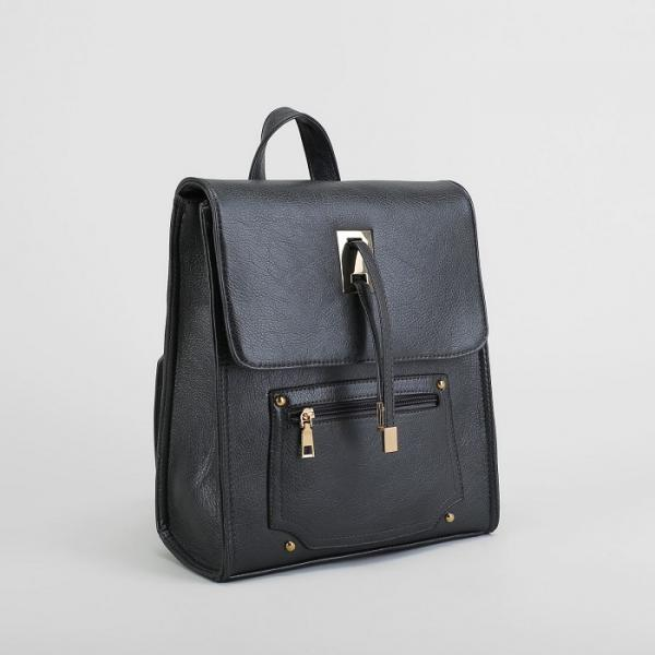 Рюкзак молодёжный на молнии, 1 отдел, 2 наружных кармана, цвет хаки