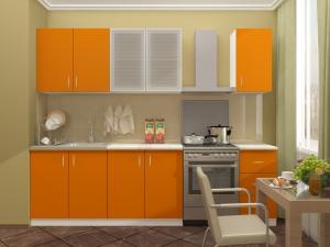 Фото кухни Катя( манго) 2м