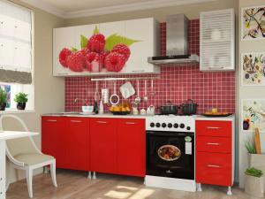 Фото кухни Малина 2м