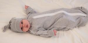 Фото Спальные мешки для новорожденных Спальный мешок серый меланж