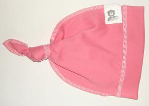 Фото Шапочки-чепчики Шапочка - чепчик розовая