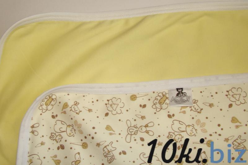 Пледик двухсторонний зверята/желтый Детские пледы, одеяла купить на рынке Апраксин Двор