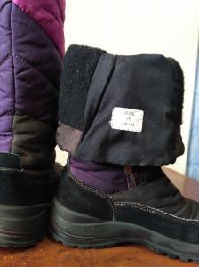 Фото Обувь Сапожки теплые 34 размер