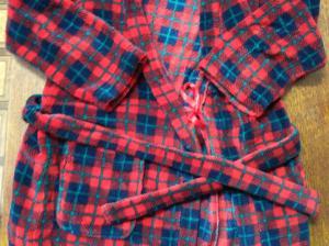 Фото детская одежда Халат теплый 8 лет