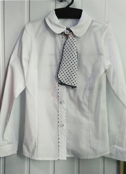 Рубашка для девочки  от 6 до 12 лет