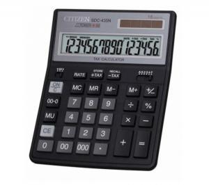 Калькулятор настольный 16р. SDC-435N бухгалтерский