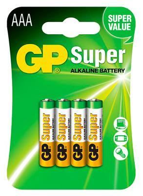 Батарейка GP LR03 24A-U AAA Super