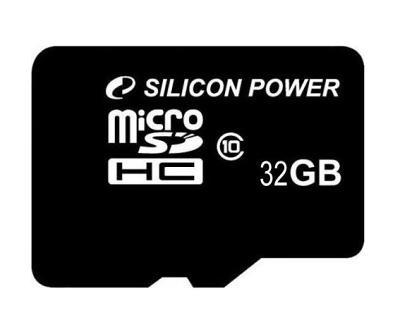 Карта памяти Silicon Power MicroSD 32Gb (Class 10)