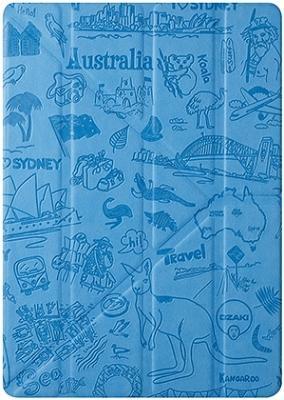 Чехол Ozaki City Sydney (Голубой) для iPad Air