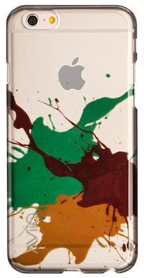 Чехол-накладка AviiQ Splash Art для iPhone 6 Plus/6s Plus (коричневый)