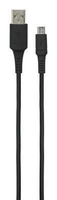 Дата-кабель BlackBox (UDC2003) USB - microUSB black