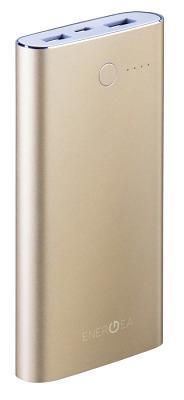 Портативная батарея Energea 10000mAh (ALUPAC) Gold