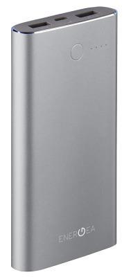 Портативная батарея Energea 10000mAh (ALUPAC) Gunmetal